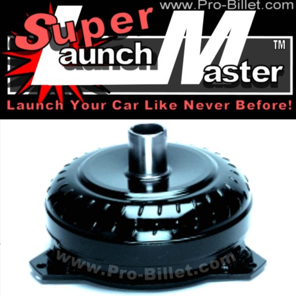 Pro-Billet Supercharger Launch Master GM stall speed torque converters